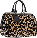 Louis Vuitton Winter 2012 Limited Edition Stephen Sprouse Leopard Corduroy Speedy 30 Bag