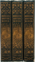 Books:Natural History Books & Prints, Francis Morris. A History of British Birds. London: GeorgeBell, 1870. Three quarto volumes (vols 3, 4 and 6 only of...(Total: 3 Items)