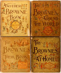 Books:Children's Books, Palmer Cox. Three First Edition Books in the Brownie Series.Includes The Brownies: Their Book; Another Brownie Book; The...(Total: 4 Items)