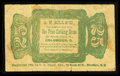Obsoletes By State:Ohio, Columbus, OH- A.N. Hill & Co. 25¢ Wolka 0867-02. ...