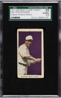 "Baseball Cards:Singles (Pre-1930), 1911 E94 Close Candy Tris Speaker ""Oppie Dildock"" Overprint SGC 35Good+ 2.5...."