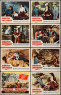 "Movie Posters:Western, Dakota Incident & Other Lot (Republic, 1956). Lobby Card Sets of 8 (2), & Lobby Cards (8) (11"" X 14""). Western.. ... (Total: 24 Items)"