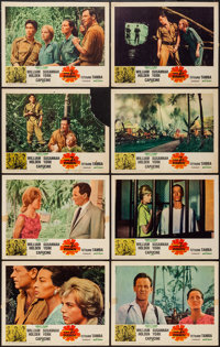 """The 7th Dawn & Other Lot (United Artists, 1964). Lobby Card Set of 8 & Lobby Cards (7) (11"""" X 14""""). Wa..."""