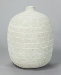 Ceramics & Porcelain, CLAUDE CONOVER (American, 1907-1994). Tzac, 1988. Ceramic. 22-1/2 high with a circumference of 55 inches (57.2 x 139.7 c...