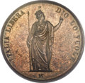 Italy:Lombardy/Venetia, Italy: Lombardy-Venetia. Revolutionary Provisional Coinage 5 Lire1848-M,...