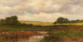 Fine Art - Painting, American:Modern  (1900 1949)  , ARTHUR TURNBULL HILL (American, 1868-1929). Cloud Shadows,1911. Oil on canvas. 16 x 30 inches (40.6 x 76.2 cm). Signed ...