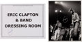 Music Memorabilia:Autographs and Signed Items, Eric Clapton and Freddie King Signed Photo with Clapton-SignedDressing Room Sign.... (Total: 2 Items)