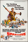 "Movie Posters:Action, Spartacus (Universal International, R-1967). Poster (40"" X 60"").Action.. ..."