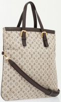 Luxury Accessories:Bags, Louis Vuitton Green Monogram Canvas Mini Lin Francoise ShoulderBag. ...