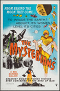 """Movie Posters:Science Fiction, The Mysterians (RKO, 1959). One Sheet (27"""" X 41"""") Flat Folded.Science Fiction.. ..."""