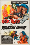 "Movie Posters:Serial, Dick Tracy vs. Crime Inc. (Republic, R-1952). One Sheet (27"" X 41"") Flat Folded. Serial. Re-Release Title: Dick Tracy vs. ..."