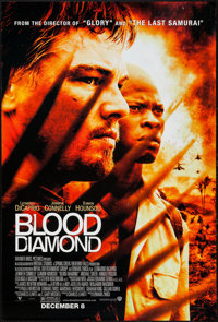 """Blood Diamond & Others Lot (Warner Brothers, 2006). One Sheets (3) (27"""" X 40"""" & 27"""" X 41"""") S..."""