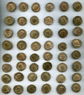 Ancients:Ancient Lots  , Ancients: GALLO-ROMAN EMPIRE. Postumus (AD 259-268). Lot ofForty-Eight (48) AR antoniniani.... (Total: 48 coins)