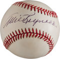Autographs:Baseballs, Allie Reynolds Single Signed Baseball....