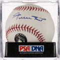 Autographs:Baseballs, Willie Mays Single Signed Baseball, PSA Gem Mint 10....