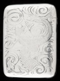 Silver Smalls:Match Safes, A BLACKINTON SILVER AND SILVER GILT MATCH SAFE . R. Blackinton& Co., North Attleboro, Massachusetts, circa 1900. Marks:B...
