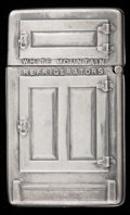 Silver Smalls:Match Safes, A WHITEHEAD & HOAG SILVER MATCH SAFE . Whitehead & Hoag,Newark, New Jersey, circa 1900. Marks: W. & H. CO., NEWARKNJ., S...