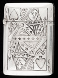 Silver Smalls:Match Safes, A WEBSTER SILVER MATCH SAFE . Webster Co., North Attleboro,Massachusetts, circa 1900. Marks: WCo (with arrow),STERLI...
