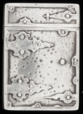 Silver Smalls:Match Safes, A WEBSTER SILVER AND SILVER GILT MATCH SAFE . Webster Co., NorthAttleboro, Massachusetts, circa 1900. Marks: WCo (with ...