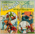 """Movie Posters:Action, The Live Wire (Reliable, 1935). Six Sheet (80"""" X 77""""). Action.. ..."""