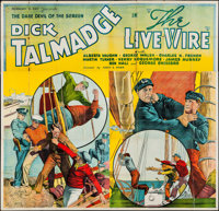 """The Live Wire (Reliable, 1935). Six Sheet (80"""" X 77""""). Action"""
