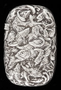 Silver Smalls:Match Safes, A GORHAM SILVER AND SILVER GILT MATCH SAFE . Gorham ManufacturingCo., Providence, Rhode Island, 1893. Marks: (lion-anchor-G...