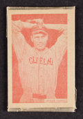 Baseball Cards:Singles (1930-1939), 1933 Uncle Jacks Candy Unopened Pack With Wesley Ferrell Showing....