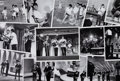 Music Memorabilia:Photos, Beatles Collection of Thirteen Ed Sullivan Show-RelatedGlossy Photos....