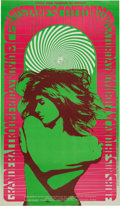 Music Memorabilia:Posters, James Cotton Blues Band/MC 5 Grande Ballroom Concert Poster (RussGibb, 1967)....