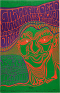 Music Memorabilia:Posters, Grateful Dead/The Doors/Junior Wells Fillmore Auditorium ConcertPoster BG-45 (Bill Graham, 1967)....