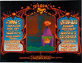 Music Memorabilia:Posters, The Who/Creedence Clearwater Revival/Grateful Dead Fillmore WestConcert Poster BG-133 (Bill Graham, 1968)....