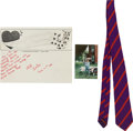 Music Memorabilia:Costumes, Sir Paul McCartney Owned 1960s Necktie.... (Total: 3 Items)