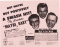 "Music Memorabilia:Posters, Buddy Holly and The Crickets ""Maybe Baby"" Flier (1958)...."