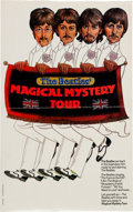 Music Memorabilia:Posters, Beatles Magical Mystery Tour Poster (New Line, R-1974)....