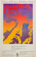 Music Memorabilia:Posters, Magic at the Edge of the Western World Concert Poster (Family Dog,1969)....