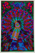 "Music Memorabilia:Posters, ""The White Rabbit in Wonderland"" Poster (East Totem West, 1967)...."