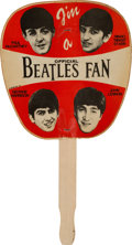 "Music Memorabilia:Memorabilia, Beatles Official ""I'm a Beatles Fan"" (NEMS, 1964). ..."