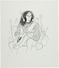 "Music Memorabilia:Posters, ""Neil Young"" Al Hirschfeld Limited Edition Print #59/100...."