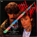 """Music Memorabilia:Autographs and Signed Items, Hall & Oates Signed """"Method of Modern Love"""" 12"""" Single (RCAPW13971, 1985)...."""