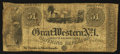 Obsoletes By State:Ohio, Cincinnati, OH- Great Western No. 1 Cheap & FashionableClothing Emporium - L. Tannenwald Advertising Note Wolka 0495-0...