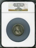 U.S. Presidents & Statesmen, 1869 General U.S. Grant Campaign Medal MS61 NGC. DeWitt-USG-1868-3.White metal, 51 mm....