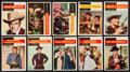 "Non-Sport Cards:Sets, 1958 Topps ""TV Western"" Complete Set (71). ..."