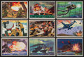 "Non-Sport Cards:Sets, 1953 R701-16 Bowman ""U.S. Navy Victories"" Complete Set (48). ..."