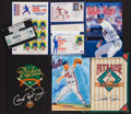 Baseball Collectibles:Publications, Ripken, Ryan, Seaver and Rose Signed Memorabilia Lot....