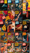 Books:Science Fiction & Fantasy, Other Worlds Science Stories Magazine. Lot of Twenty One Magazines. Evanston, Clark, [1950's]. Orignal wrappers. Some edgewe... (Total: 21 Items)