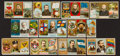 Non-Sport Cards:Lots, 1888 Duke's N126 Governors and N133 Coat of Arms Group (11). ...