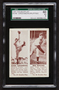 Baseball Cards:Singles (1940-1949), 1941 Double Play Greenberg/Ruffing #85/86 SGC 60 EX 5....