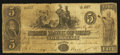 "Obsoletes By State:Ohio, Cincinnati, OH- The State Bank of Ohio, ""Hamilton County Branch""Counterfeit $5 May 12, 1848 UNL Wolka UNL. ..."