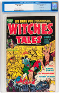 Golden Age (1938-1955):Horror, Witches Tales #9 File Copy (Harvey, 1952) CGC FN- 5.5 Cream tooff-white pages....