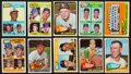 Baseball Cards:Sets, 1965 Topps Baseball High Numbers (49) With HoFers. ...